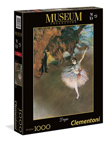 Clementoni- L'Etoile No Museum Collection Puzzle, 1000 Pezzi, 39379