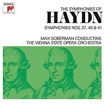 Haydn: Symphonies Nos. 37, 40 & 41