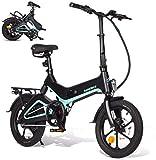 [page_title]-XCBY Urban E-Bike, Elektro Fahrrad Damen - 350W Motor, 36V 7.5AH, USB-Aufladung Black
