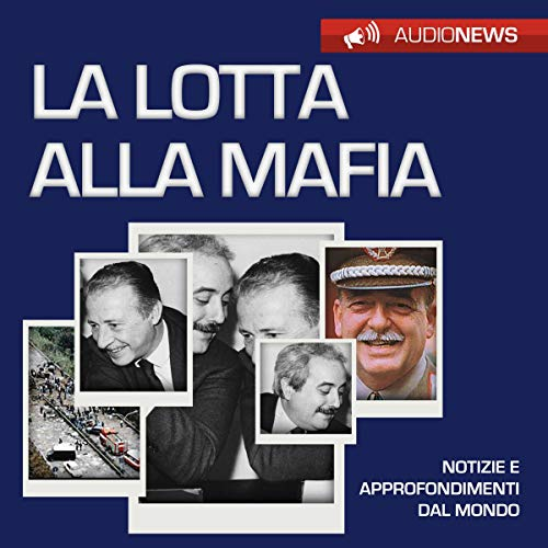 Lotta alla mafia audiobook cover art