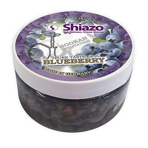 Shiazo 100g, Dampfsteine für Shisha, Blaubeere 100g, Blaubeere 100g