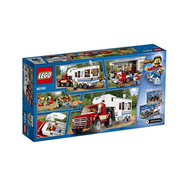 "LEGO UK 60182 ""Pickup & Caravan"" Building Block"