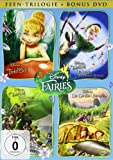 TinkerBell - Feen-Trilogie (inkl. Die Großen Feen-Spiele) [4 DVDs]