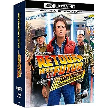 Retour vers Le Futur : Trilogie [4K Ultra HD + Blu-Ray-Édition boîtier SteelBook 35ème Anniversaire]