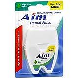 100+20 Yard Aim Dental Floss (12 Pack)