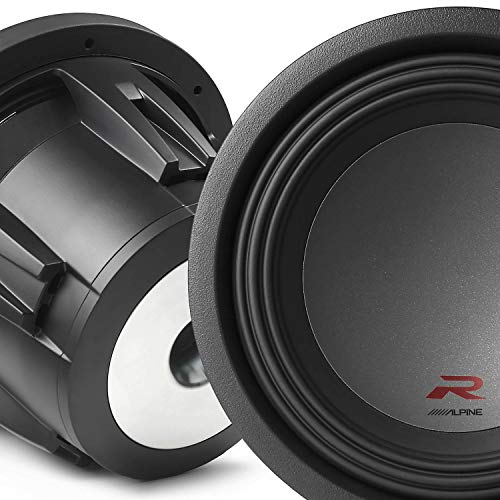 Alpine Type R 12 Inch 2250 Watt Max 4 Ohm Round Car Audio Subwoofer RW12D4