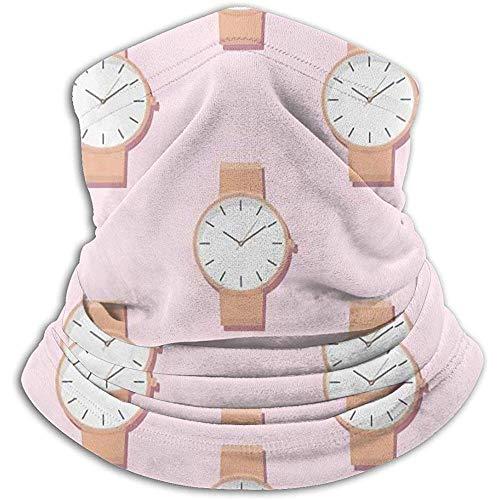 air kong Halswärmer Gamasche, Armbanduhr, weiche Mikrofaser Kopfbedeckung Gesicht Schal Maske für Winter kaltes Wetter und warm halten für Herren Damen