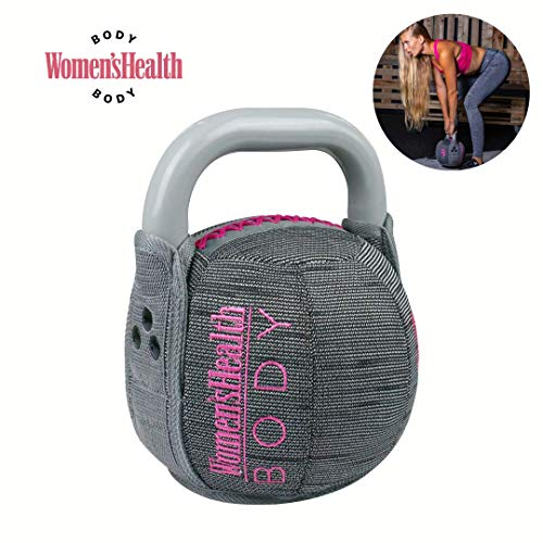 WOMEN'S HEALTH BODY Soft Kettlebell | Richtiges Tool für Shaping, Conditioning und Kraftaufbau | Textilüberzug für Training zu Hause (8)