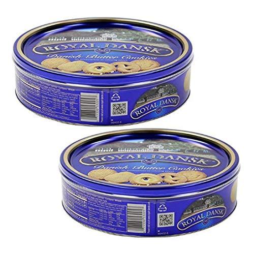 Galletas danesas Royal Dansk con mantequilla y coco rallado - 2 x 340 gramos