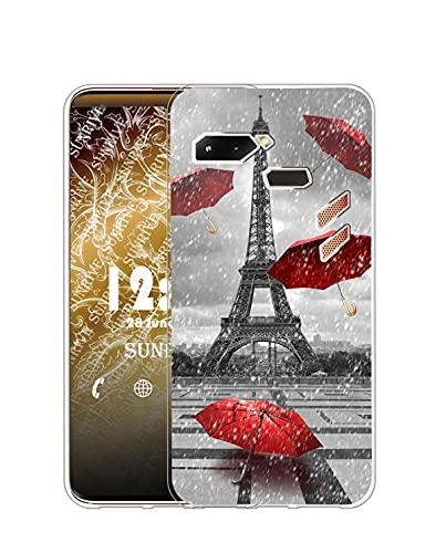 Sunrive Funda Compatible con ASUS ROG Phone ZS600KL, Silicona Slim Fit Gel...