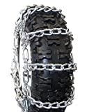 ICC 1556SH- Snow Hog Traction Chain for DEEP LUG tires - Oversize Twist Link with 2 link spacing - PAIR (for 2...