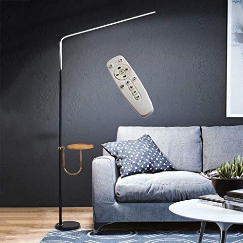 JDKC- Lámpara de Pie con Repisa para Lectura Atenuación Continua Ángulo Ajustable Lámpara de Pie LED con Mesa para Sala de Estar Dormitorio Hogar Dedcor 20W (Color : Style2)