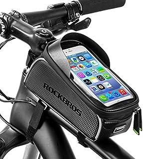 RockBros Bike Front Frame Bag Cycling Waterproof Top Tube...