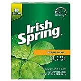 Colgate Pa Irish Spring Deodorant Soap, Original Scent, 840 g