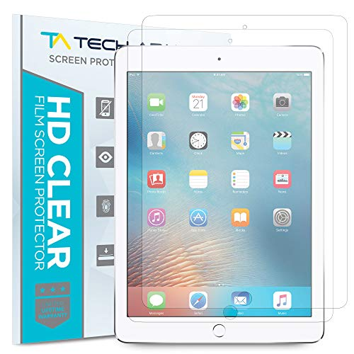 Tech Armor Anti-Glare Screen Protector for Apple iPad Air 2 / iPad Air (First Generation) (Pack of 2)