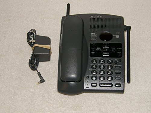 SONY SPP-A946 900MHz Cordless Telephone with Digital Answering Machine