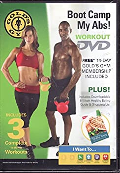 Sports Gold's Gym Boot Camp My Abs Workout DVD Book