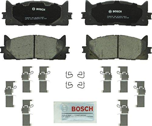 Bosch BC1293 QuietCast Premium Ceramic Disc Brake Pad Set For: Lexus ES300h, ES350; Toyota Avalon, Camry, Front