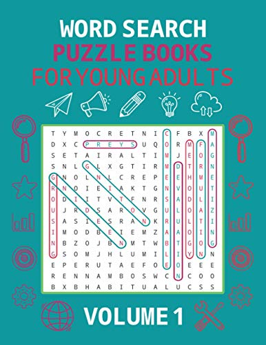 Word Search Puzzle Books For Young Adults Volume 1: Easy Word Search Puzzle Books For Kids | Word Search For Seniors | Word Search Books For Kids 4-6 ... Great Gifts For Kids And Girls Any Occasions