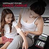 Erste Hilfe Set Wandern, Outdoor, Fahrrad & Reise Zubehör für die Erstversorgung der häufigsten Notfälle nach DIN 13167 - First Aid Kit für Ihre Sicherheit - 2