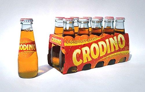 Crodino 10 x 100ml - Sanpellegrino Aperitif ohne Alkohol