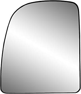 Fit System 88237 Ford Left Side Manual/Power Replacement Mirror Glass with Backing Plate