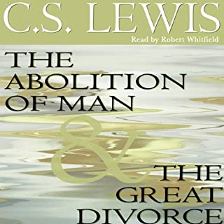 The Abolition of Man & The Great Divorce cover art