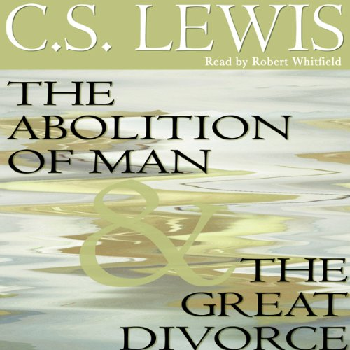 The Abolition of Man & The Great Divorce copertina