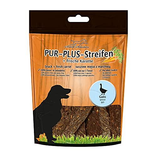 Pur Plus kaustreifen Oie + Carotte 100% Sans Gluten getreidefrei sans Plus Ingrédients, sans additifs irgendwelchen chien pour peaux sensibles et personnes allergiques des 1 seul animal art