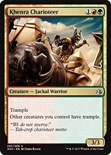 Wizards of the Coast Khenra Charioteer - Foil - Amonkhet