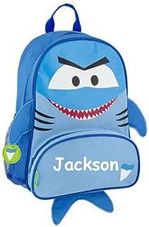 Stephen Joseph Personalized Little Boys' Sidekick Shark Backpack With Name
