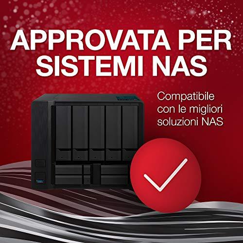 Seagate IronWolf, 8 TB, Hard Disk SATA da 6 GBit/s, HDD, CMR 3,5
