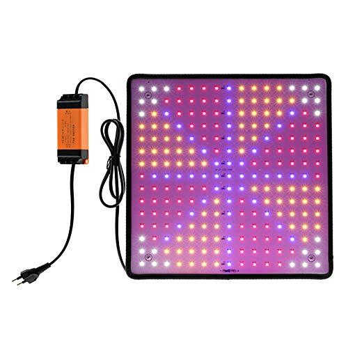 You's Auto Ultra Dünn Pflanzenlampe LED, 1000W Grow Lampe für Zimmerpflanzen für Zimmerpflanzen für Innen Samen Knospe Pflanze Gemüse und Blume für Wachsen Zelt (Rot + Blau + Weiß + Orange)