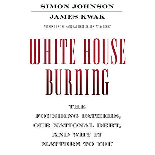 White House Burning audiobook cover art