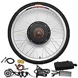 Kit de bicicleta eléctrica de 26 pulgadas, 36 V, 250 W, rueda trasera, kit de conversión de motor trasero