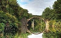 減圧大人500個池橋川の森家のための木のアセンブリの装飾