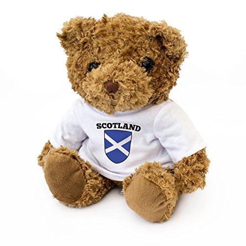 Vlaggen van Schotland, schattige en knuffelige teddybeer - Schotse fan cadeau