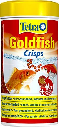 Tetra Goldfish Crisps, Premiumfutter für Goldfische in Crisp-Form, 250 ml Dose