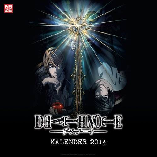 Death Note - Wandkalender 2014