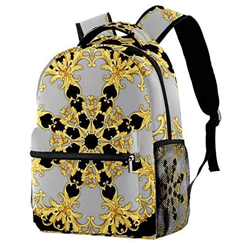 30,5 cm Rucksack für Mädchen, Schulrucksack Büchertaschen (29,2 x 20,3 x 40,6 cm), Retro-Uhr