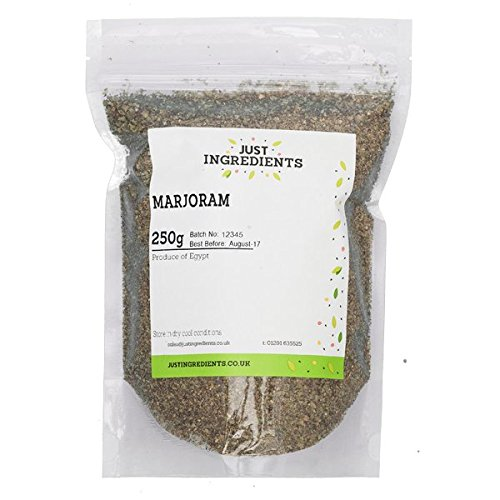 JustIngredients Essential Mejorana - 5 Paquetes de 250 gr - Total: 1250 gr
