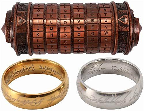 Bester der welt Da Vinci Code Mini Cryptex blockiert romantische kreative Geburtstagsgeschenke zum Valentinstag…
