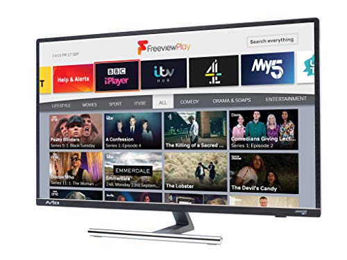 Avtex 279DSFVP 27 Zoll 12 V/240 V Wi-Fi Connected HD TV mit Freeview Play