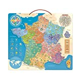 Vilac- Carte de France éducative, 2589, Multicolore