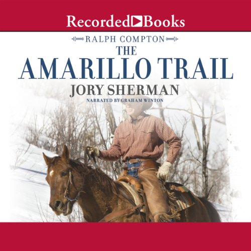 The Amarillo Trail audiobook cover art