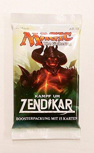 Wizards Of The Coast Magic Kampf um Zendikar 1 Booster