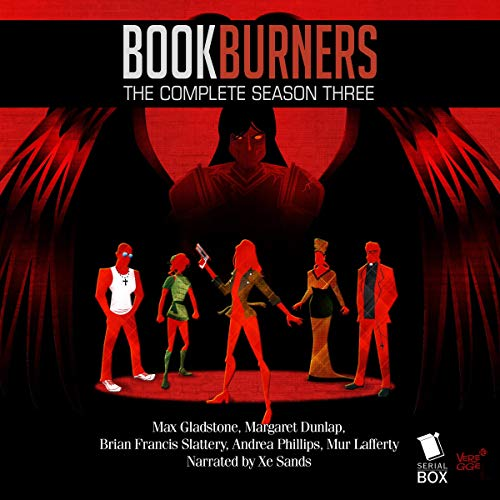 Bookburners: The Complete Season 3 audiobook cover art