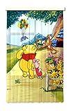 Gardine Vorhang FCS L 7111 Disney  Winnie The Pooh