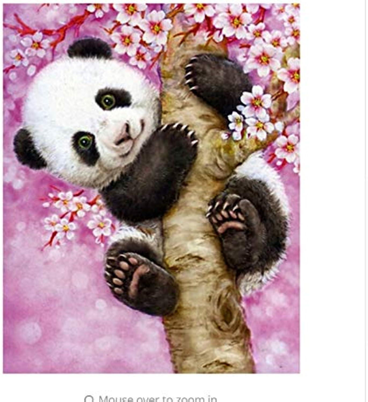 LIWEIXKY Tiere DIY Malen Nach Zahlen Kits Acrylfarbe Auf Leinwand Malen Nach Zahlen Für Wohnkultur Einzigartiges Geschenk  Mit Rahmen  50x60cm