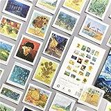 50 adesivi per taccuino, album fotografico, fai da te, diario, decorazione, adesivi per bambini, regalo per bambini (C)